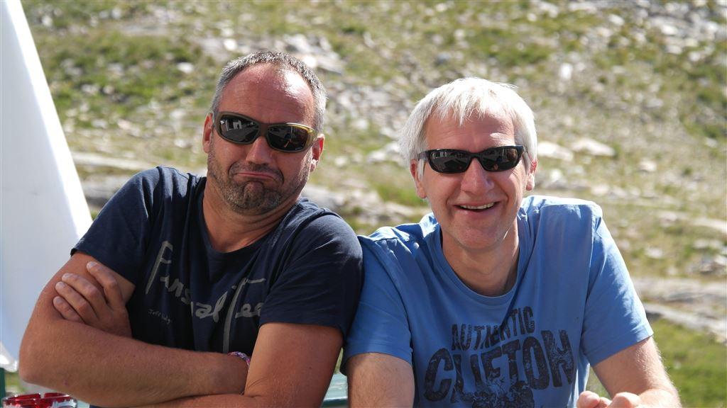 Gerald Zussner und Axel Enke
