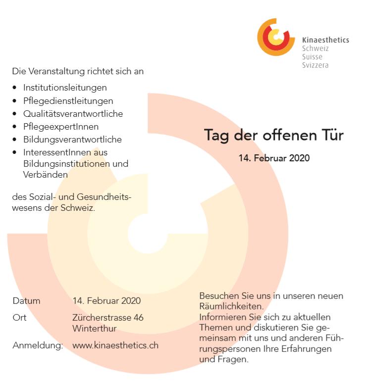 Kinaestehtics Schweiz Tag der offenen Tür